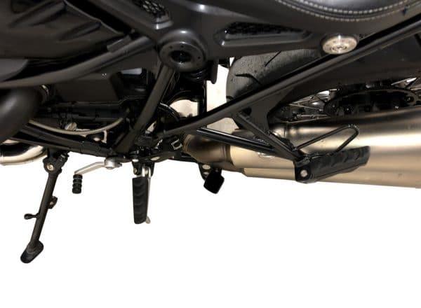 Cavalletto Centrale XRay per Bmw RnineT Regular - Pure e Racer - vista dall'alto